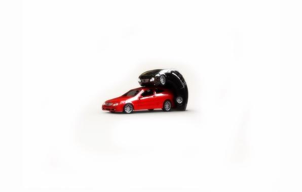 Картинка авто, белый фон, как делают машины