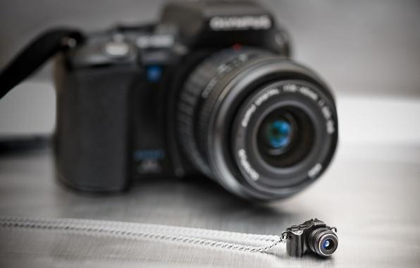 Картинка камера, фотоаппарат, кулон, разное, фотокамера
