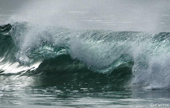 Картинка море, пена, вода, капли, брызги, стихия, волна, прибой, водяная пыль