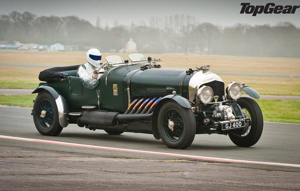 Картинка ретро, Bentley, top gear, бентли, Stig, Стиг, самая лучшая телепередача, высшая передача, топ гир, 1926, …