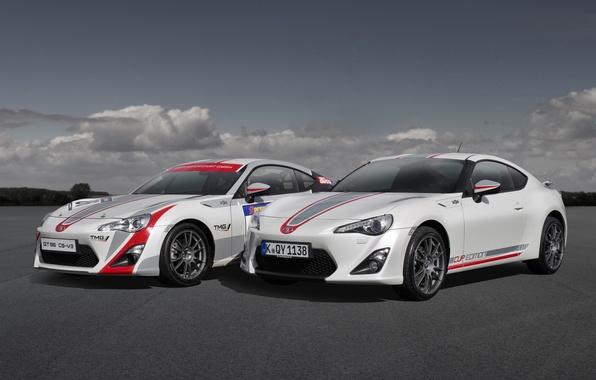 Картинка небо, купе, Toyota, передок, Тойота, GT 86, Cup Edition