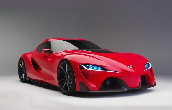 Картинка Concept, концепт, Toyota, тойота, FT-1