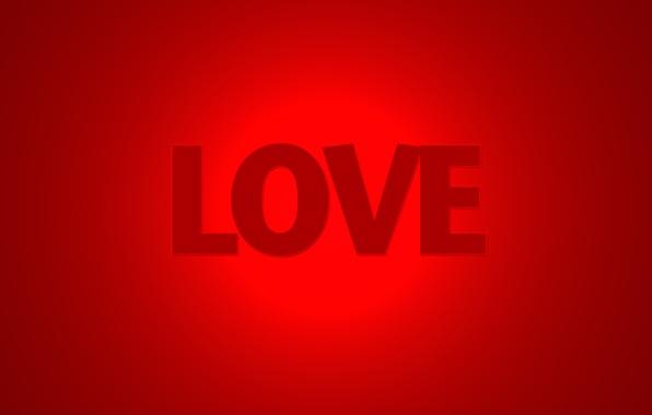 Картинка любовь, красный, слово