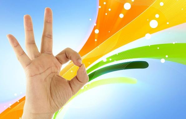 Картинка рука, пальцы, жест, ладонь