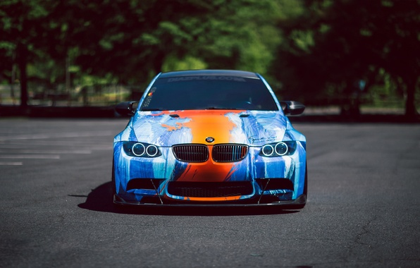 Картинка car, BMW, E92
