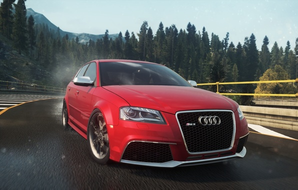 Картинка Audi, 2012, Need for Speed, nfs, Sportback, Most Wanted, RS3, нфс, NFSMW