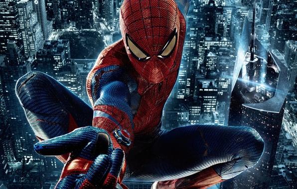Фото обои Marvel, The Amazing Spider-Man, Новый Человек-паук, Эндрю Гарфилд