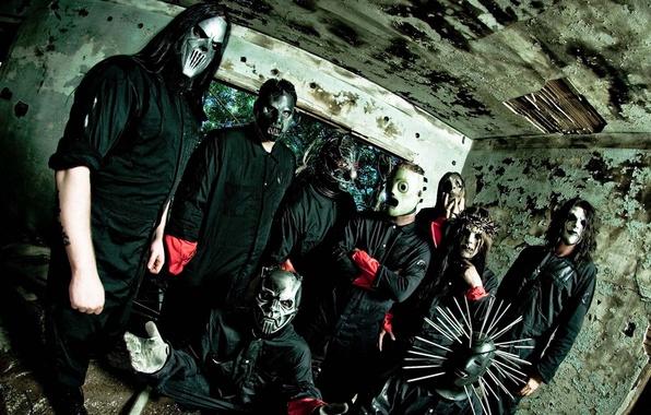 Картинка группа, Metal, Rock, Slipknot, музыканты, Ню-метал, Альтернативный метал