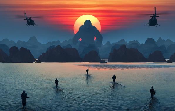Картинка Фильм, Movie, Kong: Skull Island, Кинг Конг: Остров Черепа