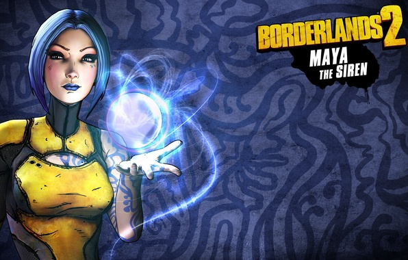 Картинка Maya, RPG, 2K Games, Borderlands 2, Siren, Gearbox Software, Unreal Engine 3, FPS