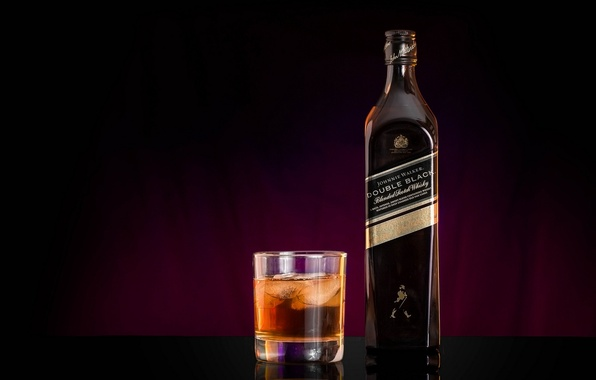 Картинка Johnnie Walker, Whiskey, Double Black