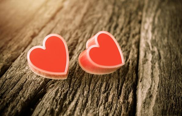 Картинка сердце, love, vintage, heart, wood, romantic