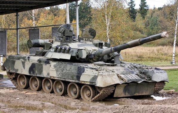 Картинка красота, мощь, танк, Россия, военная техника, Т-80 УД