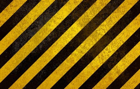 Картинка полосы, жёлтый, чёрный, штрихи