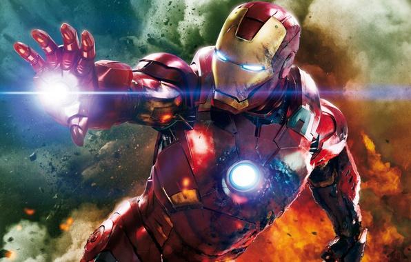 Картинка костюм, супергерой, Iron Man, The Avengers, Железный Человек
