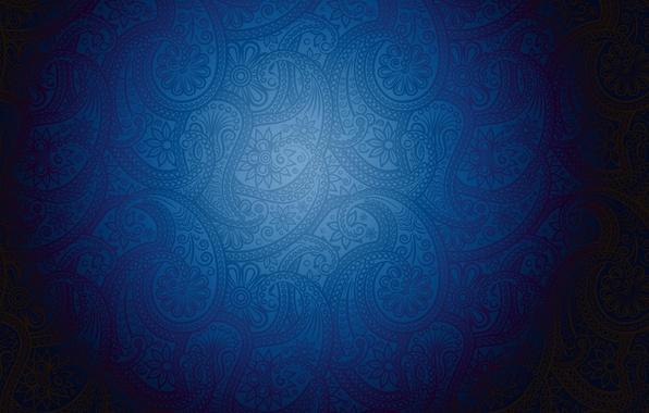 Картинка синий, фон, обои, узоры, текстура