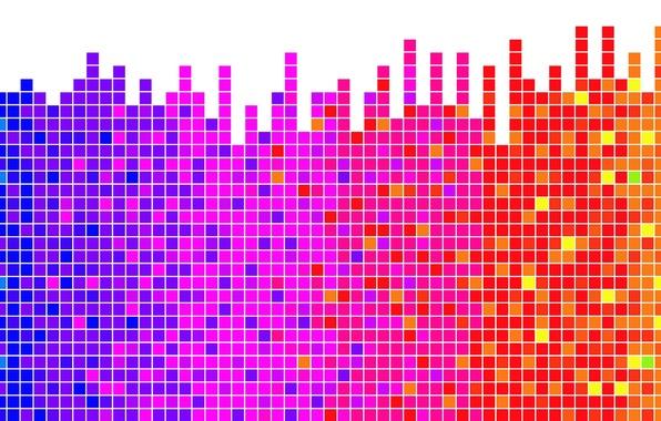 Картинка спектр, визуализация, Ритм