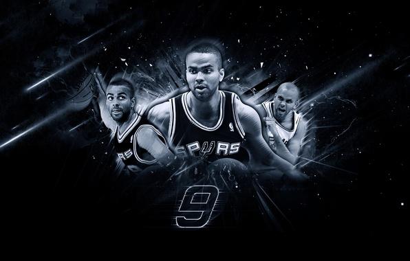 Картинка Мяч, Спорт, Баскетбол, NBA, San Antonio, Сан Антонио, Spurs, Спёрс, Тони Паркер, Tony Parker