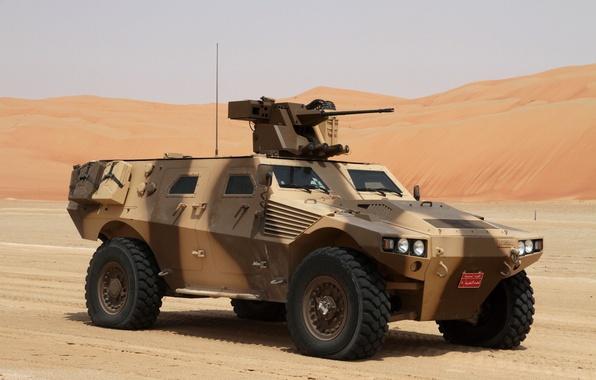 Картинка wallpaper, gun, desert, military, weapon, dune, armored, machine gun, cannon, camouflage, combat vehicle, armored vehicle, …