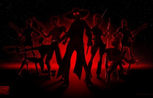 Картинка звездные войны, star wars, сериал, мульт, наемники, орра синг, войны клонов, кэд бейн, the clone ...
