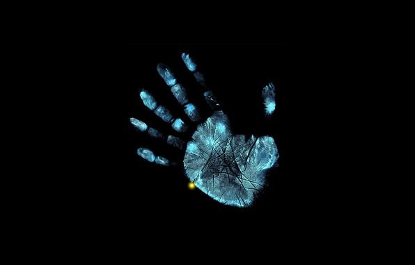 Картинка рука, рентген, пальцы, fox, грань, fringe, за гранью