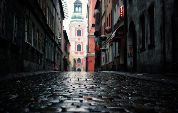 Картинка город, Poland, Poznan
