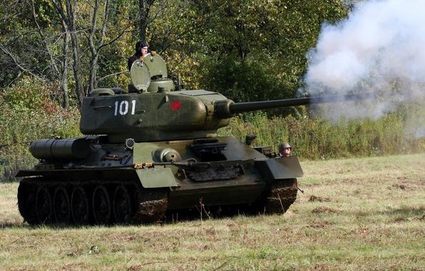 Фото т 34 85 советский средний танк
