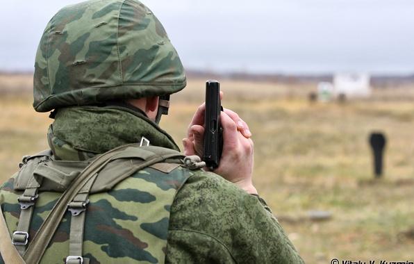 Картинка солдат, боец, каска, Русский, стрельбище камуфляж