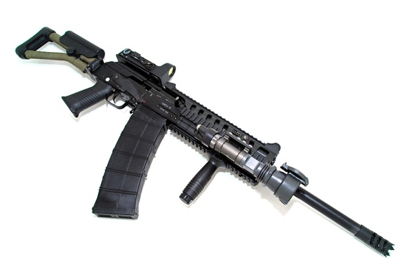 Картинка ружьё, карабин, самозарядное, Сайга-12