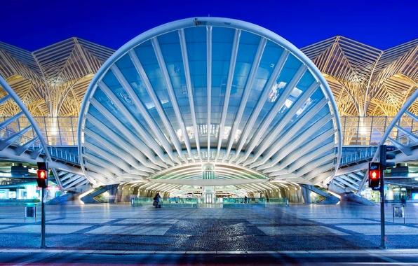 Картинка вокзал, Португалия, Лиссабон, Ориенти