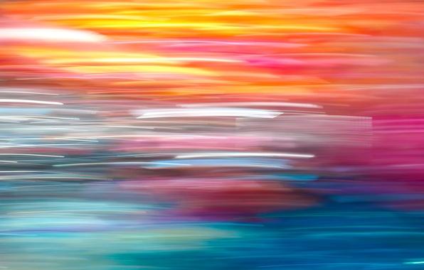 Картинка цвета, линии, настроение, обои, полоса, радуга, заставка