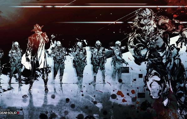 Картинка art, Konami, Kojima Productions, Naked Snake, Ground Zeroes, Big Boss, Hideo Kojima, stealth action, Punished ...