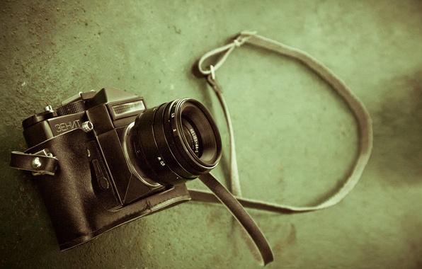 Картинка макро, фотоаппарат, зенит