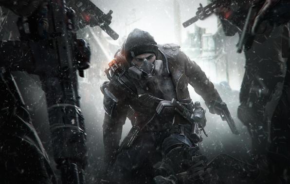 Картинка Туман, Дым, Свет, Апокалипсис, Оружие, DLC, Ситуация, Экипировка, Ubisoft Entertainment, Survival, The Division, Выживание, Tom …