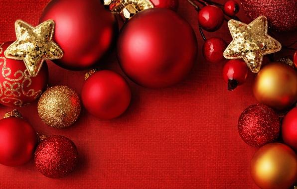 Картинка украшения, шары, Новый Год, Рождество, red, Christmas, balls, Xmas, decoration, New year, Merry