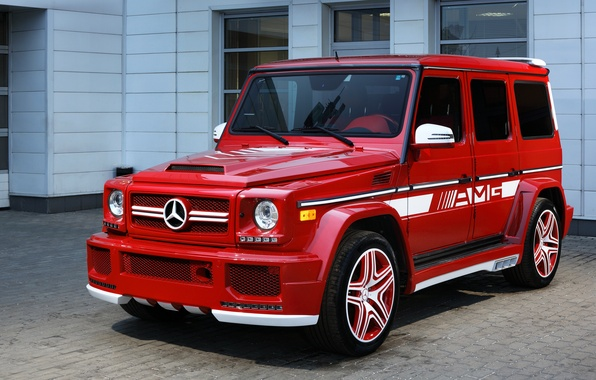 Картинка Mercedes-Benz, Hamann, мерседес, AMG, гелендваген, G-Class, W463