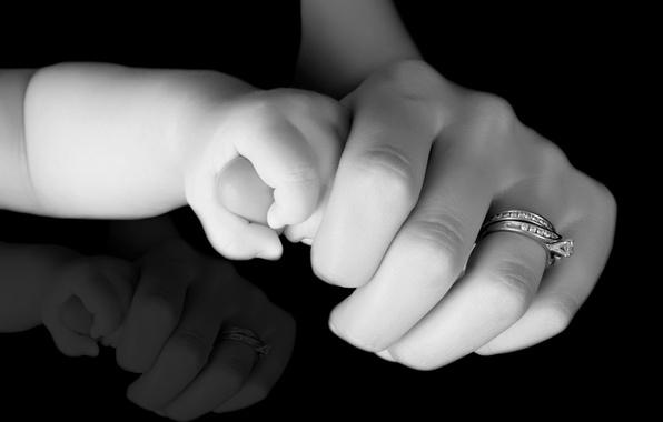 Картинка девушка, счастье, дети, фон, обои, настроения, женщина, ребенок, мальчик, кольцо, девочка, wallpaper, girl, мама, малышка, …