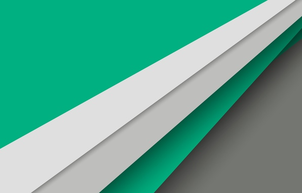 Картинка Android, Green, Design, 5.0, Line, Colors, Lollipop, Stripes, Abstraction, Material