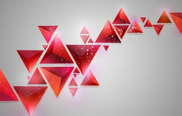 Обои геометрические фигуры