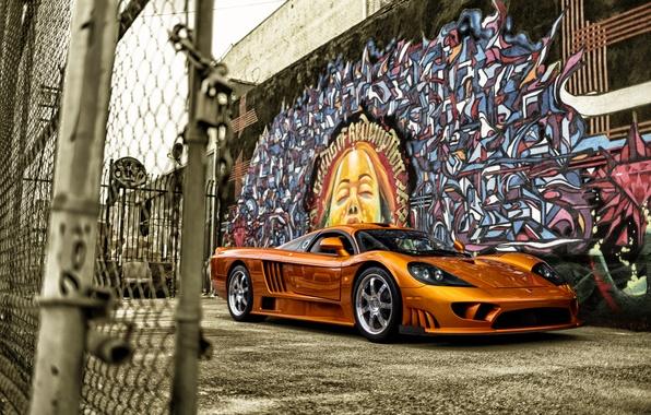 Картинка Saleen, суперкар, 2005, Twin Turbo, салеен