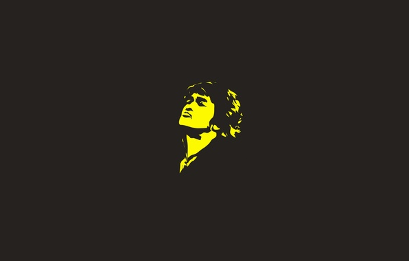 Картинка лицо, минимализм, мужчина, рок, музыкант, легенда, Виктор Цой, кумир
