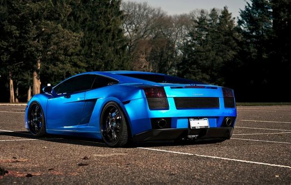 Картинка авто, синий, цвет, Lamborghini, cars, auto, Supercars, wallpapers auto, Supercar, темно синий, LAMBORGHINI GALLARDO, GALLARDO