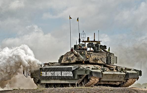 Картинка танк, британский, Challenger 2, основной боевой танк, Челленджер 2