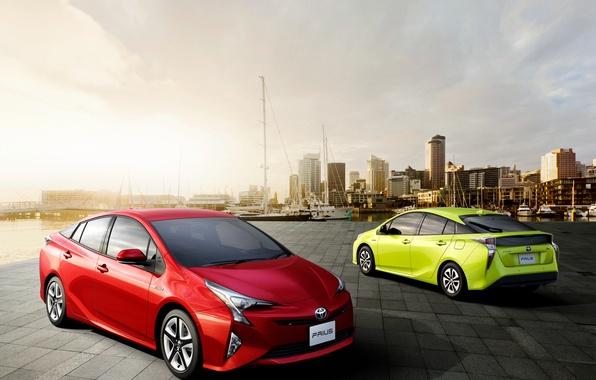 Картинка Toyota, гибрид, тойота, Prius, приус