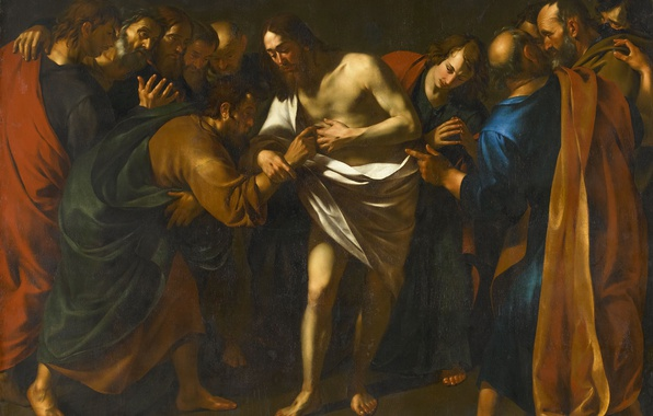 Картинка картина, миф, Фома Неверующий, Wouter Pietersz Crabeth