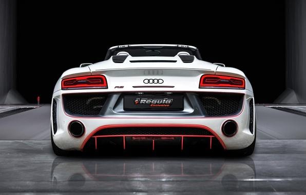Картинка Audi, Ауди, Зад, Spyder, Tuning, Regula Exclusive