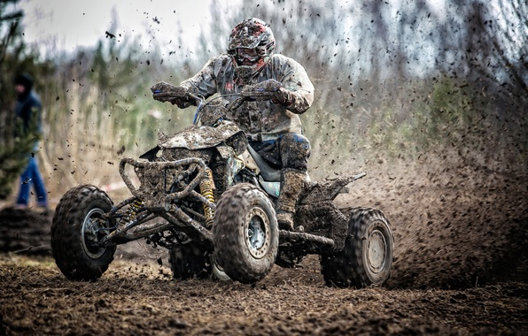 Картинка гонка, спорт, грязь