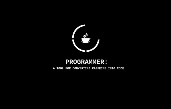 Картинка cup, tool, cade, programmer