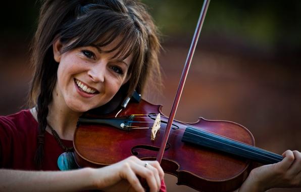 Картинка скрипка, красавица, violin, Линдси Стирлинг, Lindsey Stirling
