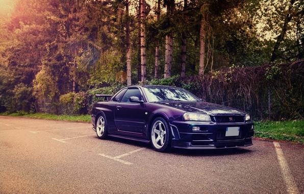 Картинка Nissan, GT-R, Skyline, R34, Nismo, S-Tune